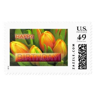 Happy Birthday Sunrise Tulip (U.S. Postage stamp)