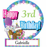 """Happy Birthday Sweet Cupcake Squirrel 