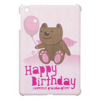 Happy Birthday Sweetest Grandaughter iPad Mini Cases