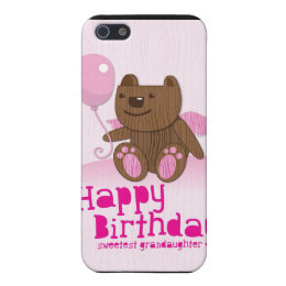 Happy Birthday Sweetest Grandaughter iPhone SE/5/5s Case