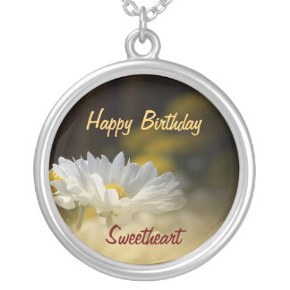 Happy Birthday Sweetheart - Birthday Pendant