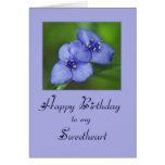 Happy Birthday Sweetheart Cards