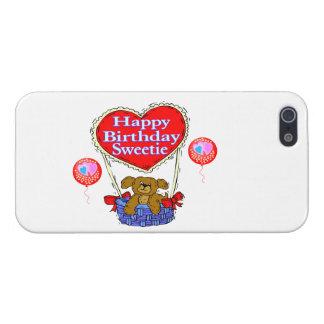 Happy Birthday Sweetie Puppy iPhone SE/5/5s Cover