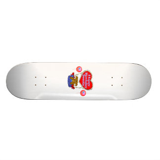 Happy Birthday Sweetie Puppy Skateboard Deck