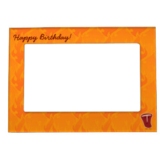 Happy Birthday T-Bone steak Magnetic Picture Frame