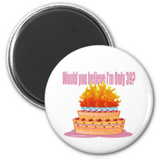 HAPPY BIRTHDAY T-SHIRTS AND GIFTS 2 INCH ROUND MAGNET