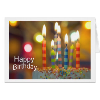 Happy Birthday Tarjeta De Felicitación