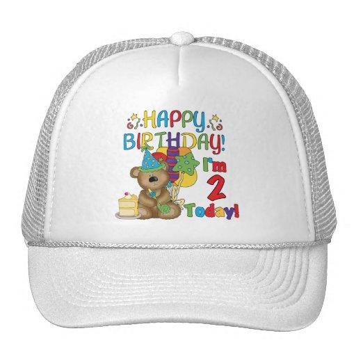 Happy Birthday Teddy Bear 2nd Birthday Hats