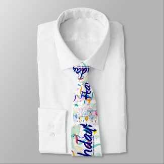 Happy Birthday Tie - Personalize