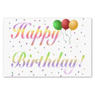 Happy Birthday Tissue Paper