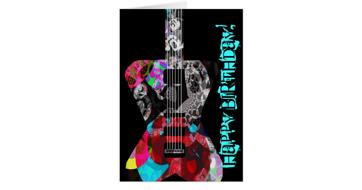 285 75 16 >> Happy Birthday to a Real Rocker Greeting Card! Card ...