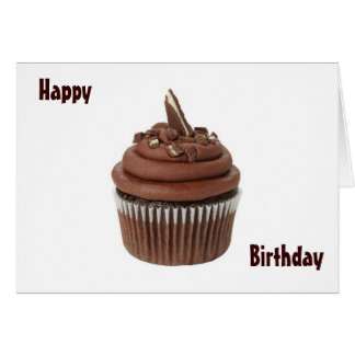 HAPPY BIRTHDAY TO A SWEETIE - CUPCAKE STYLE! CARD