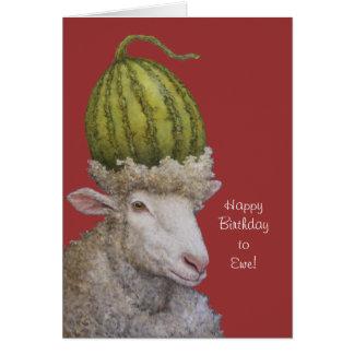 Happy Birthday to Ewe card