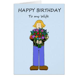 Happy Birthday to lesbian wife. Card