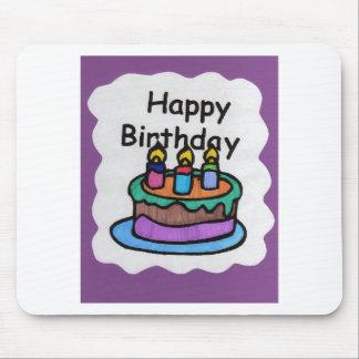 Happy birthday to me (art) mouse pad
