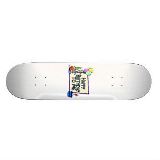 Happy Birthday To Me Boy Skateboard Deck