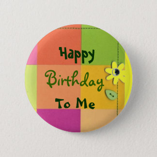 Happy, Birthday, To Me Button