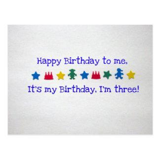 Happy Birthday to me... Postcard