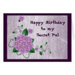 Happy Birthday to my Secret Pal Cards