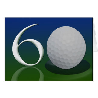 Happy Birthday to the 60 year old golf nut Card