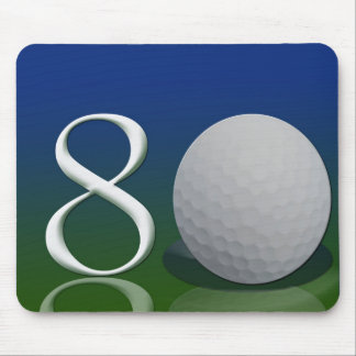 Happy Birthday to the 80 year old golf nut Mouse Pad