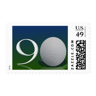Happy Birthday to the 90 year old golf nut Postage