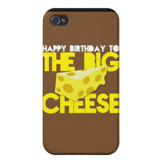 Happy Birthday to the BIG CHEESE Cover For iPhone 4