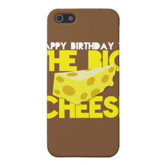 Happy Birthday to the BIG CHEESE Cover For iPhone SE/5/5s