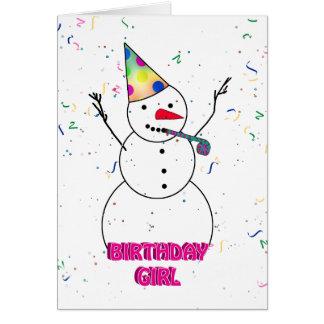 Happy Birthday to the Birthday Girl! Greeting Cards