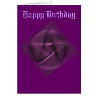Happy Birthday to the Hidden Wiccan Greeting Card