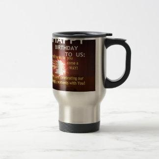 Happy Birthday TO YOU 15 Oz Stainless Steel Travel Mug