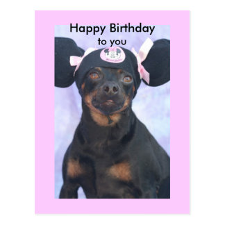 Happy Birthday, to you Postcard