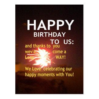 Happy Birthday TO YOU Postcard