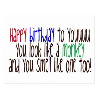 Happy Birthday to You! Postcard