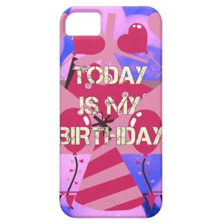Happy Birthday Today is my Birthday Blue Balloons iPhone SE/5/5s Case