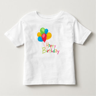 Happy Birthday Toddler T-shirt