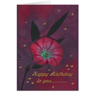 Happy Birthday ton you… Card