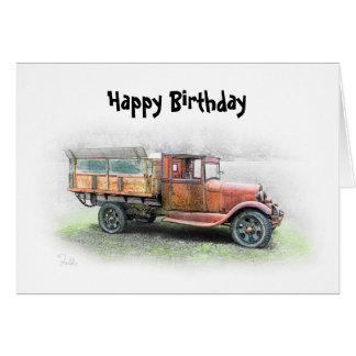 Happy Birthday Trusty Rusty Card