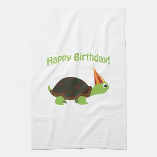 Happy Birthday! Turtle Towel
