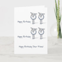 Happy Birthday TWO EWE! Card