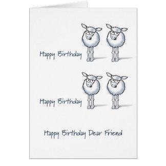 Happy Birthday TWO EWE! Card