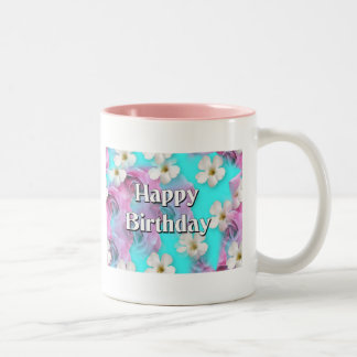 Happy Birthday Two-Tone Coffee Mug