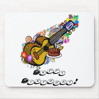 Happy Birthday Ukulele Mousepad