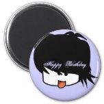 Happy Birthday Ultra Cute Anime Boy Magnet
