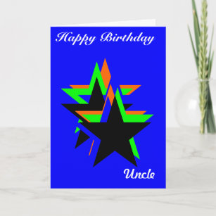 Proud uncle cards zazzle happy birthday uncle greeting cards m4hsunfo