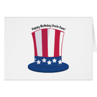 Happy Birthday Uncle Sam! Card