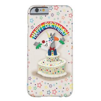 Happy Birthday Unicorn Barely There iPhone 6 Case