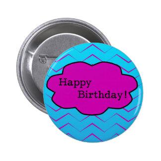 Happy Birthday Unique Purple Wallpaper Cloud Button