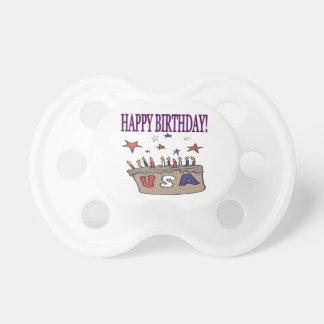 Happy Birthday USA BooginHead Pacifier