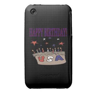 Happy Birthday USA Case-Mate iPhone 3 Case